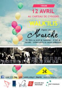 Flyer Walk'ILIS - marche 12.04